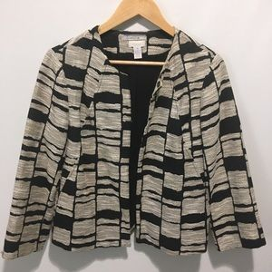 Chico's print swing jacket. Small